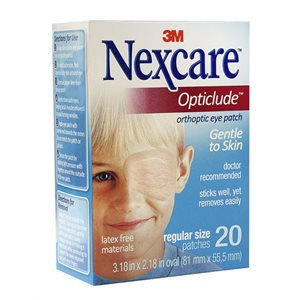 Nexcare Opticlude Orthoptic Eye Patches