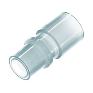 Connector, Swivel  22 mm OD both ends, White, Qty 5