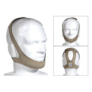 Topaz Style Chinstrap Adjustable Tan XL