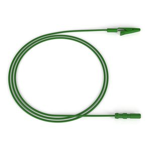 "Alligator Clips with 24"" Green Leadwire Each"