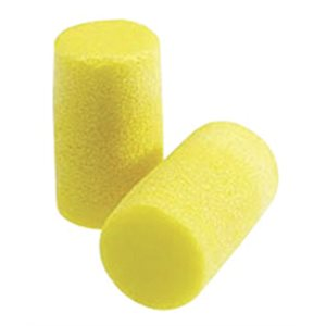 Foam Ear Plugs, Yellow,  Qty 200