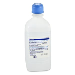Sterile Water 1000ml Qty 12