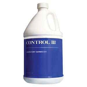 Control III Disinfectant 1 Gallon 128 oz Qty 1