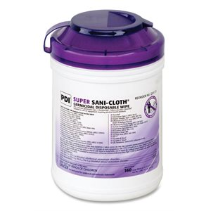 Disinfecting Wipe,Super Sani Cloth (1 Canister / 160 wipes)